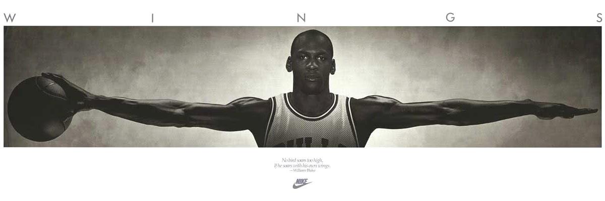 Hoopography Poster Review Nike Air Jordan Quot Wings Quot Poster