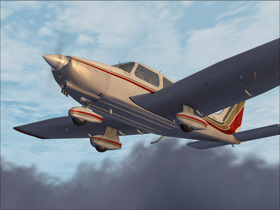 FS8/FS9/FSX Addons: FS2004 - Carenado - Piper Dakota