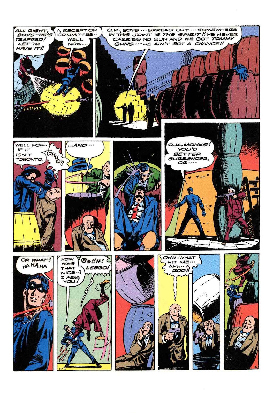 Read online Will Eisner's The Spirit Archives comic -  Issue # TPB 3 (Part 2) - 43