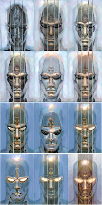 Silver Surfer Studies by Paolo Rivera