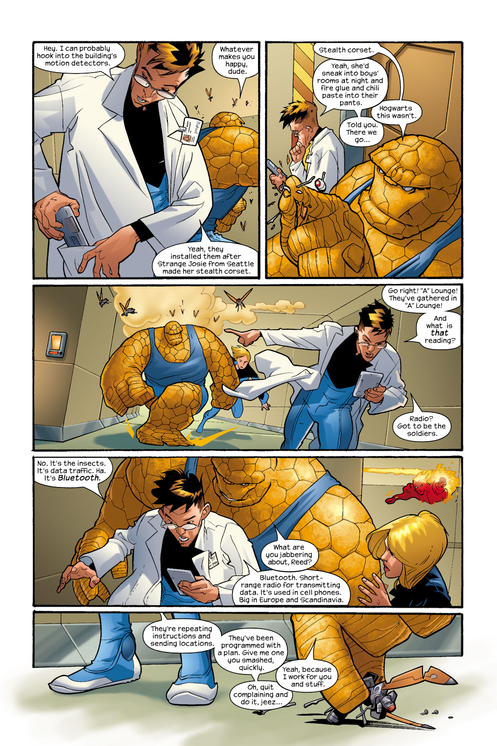 Read online Ultimate Fantastic Four (2004) comic -  Issue #9 - 11