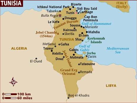 Capricious Life: 突尼西亞--簽證篇
