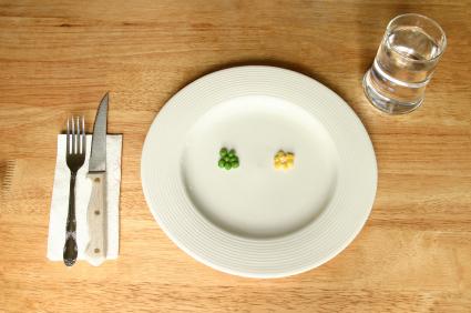 Adelgazar aguantando hambre en