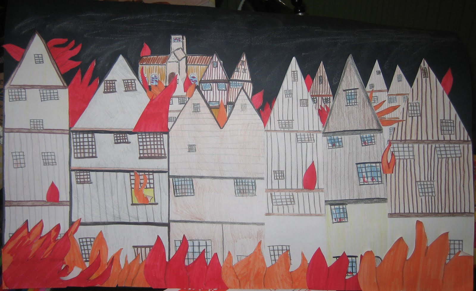 Tibby Toes Homeschool Great Fire Of London