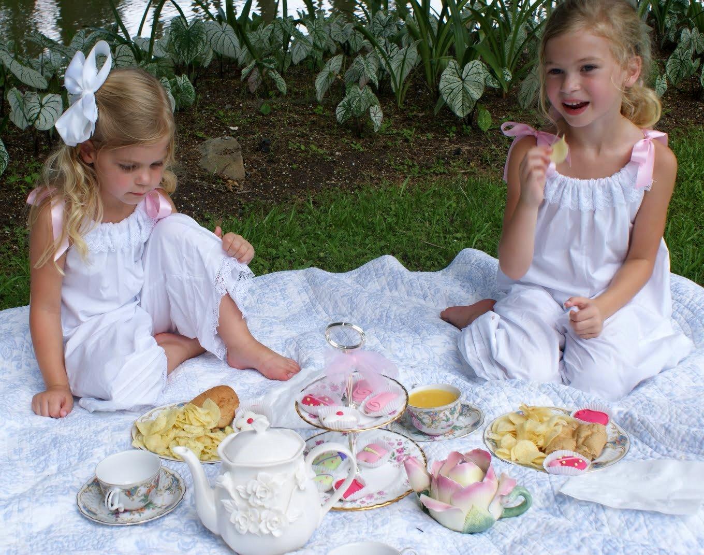 tea party time - photo #2