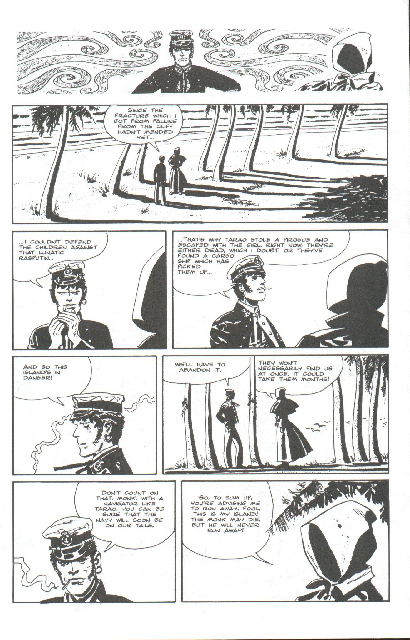 Read online Corto Maltese: Ballad of the Salt Sea comic -  Issue #6 - 7