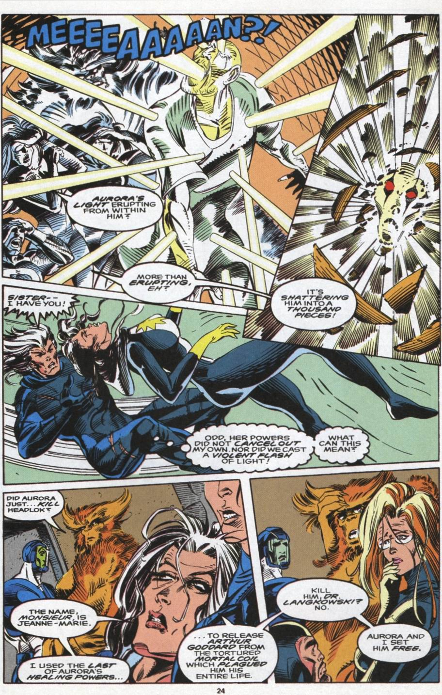 Read online Alpha Flight (1983) comic -  Issue #104 - 19