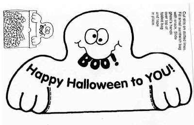 ELEMENTARY SCHOOL ENRICHMENT ACTIVITIES: BOO BAG TOPPERS