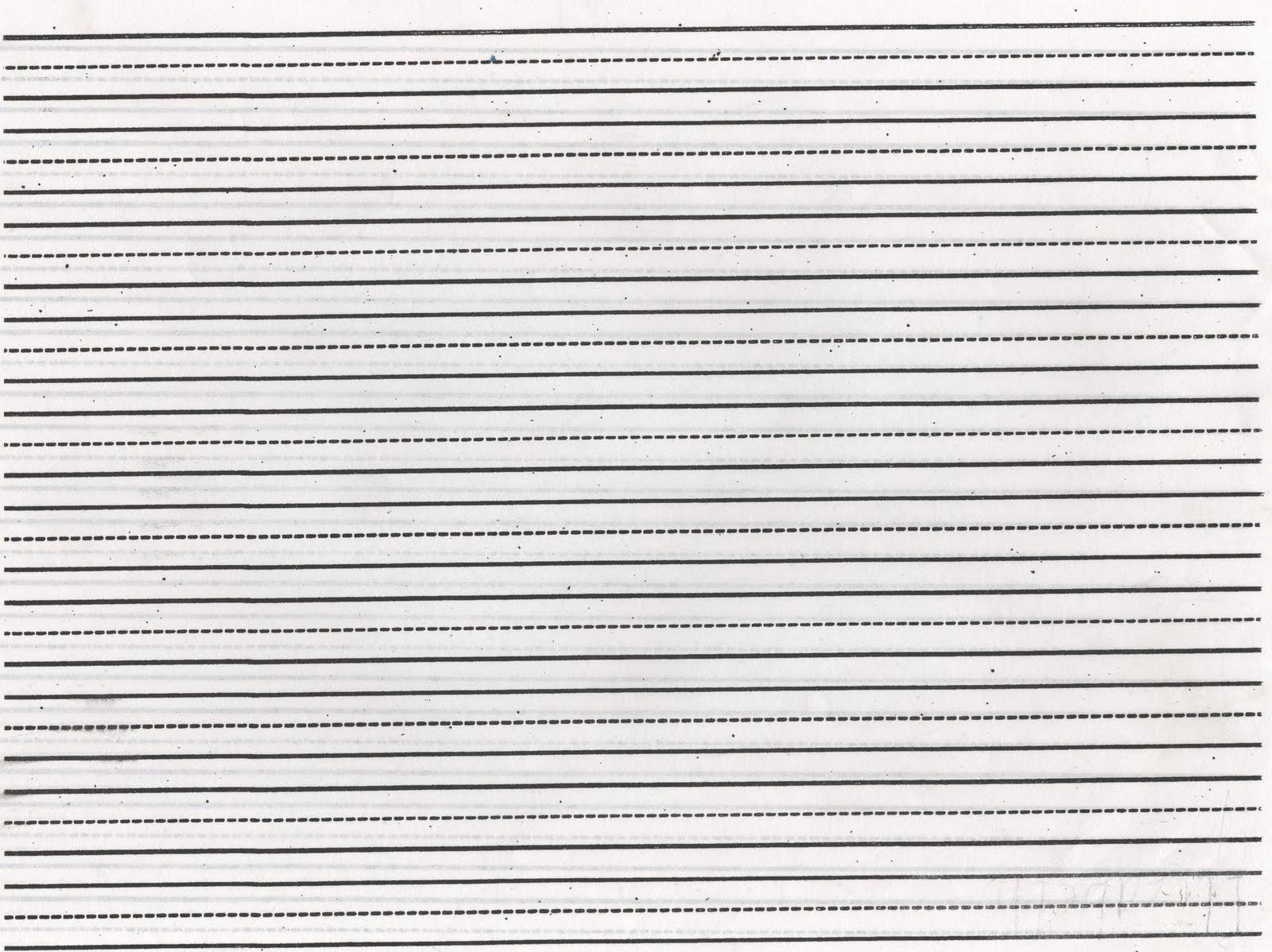 Ruled paper for writing arabic