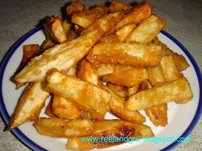 Kamote Que Or Camote Que Deep Fried Sweet Potato With