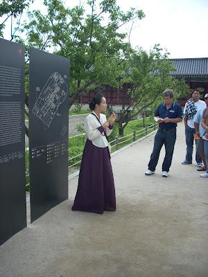 Tour Guide in Korea