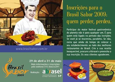 Abrasel bx - >Brasil Sabor 2009