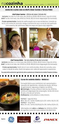 eflyer cesar tereza 460 - >Pernambuco e Bahia entram Na Cozinha