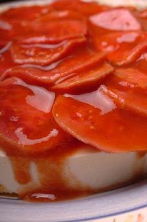 Doce+de+Laura - >Mousse de queijo com Goiabas