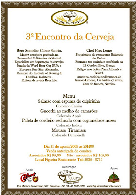 conviteJantar+Colorado+31+agosto+2 - >Clube da Cerveja