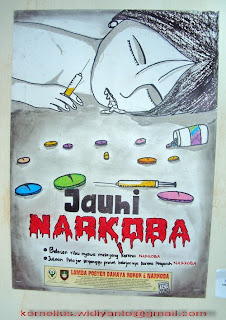 I Can Cr8 Pameran Poster Bahaya Merokok Dan Narkoba