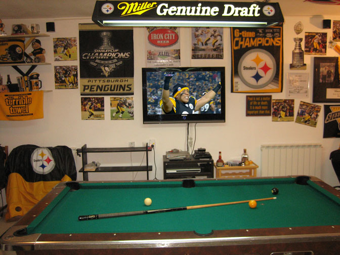 Great Pittsburgh Steelers Pool Table #21   Iu0027m Extremely Jealous Of The  Three Rivers Stadium Seats. Donu0027t Forget To Check Out (and Even Join)  The ...