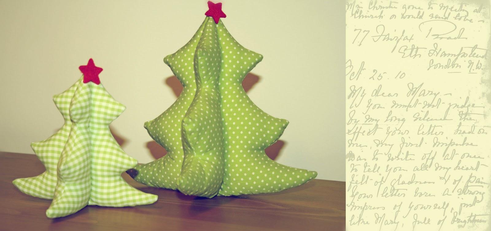 nina 39 s schatzkiste gen hte weihnachtsb umchen. Black Bedroom Furniture Sets. Home Design Ideas