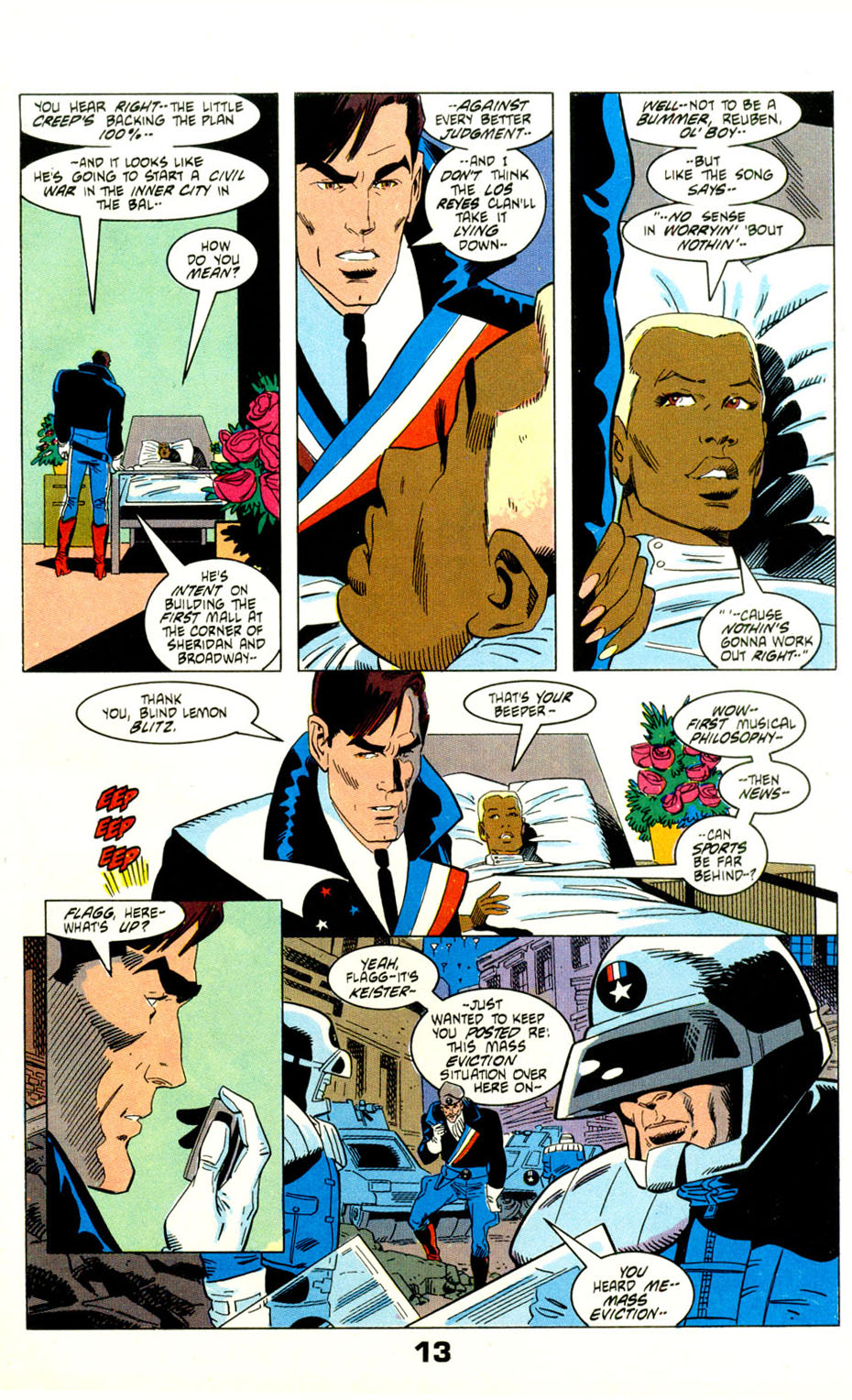 Read online American Flagg! comic -  Issue #29 - 16