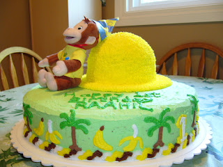 Flavour Of The Week Curious George Birthday Cake