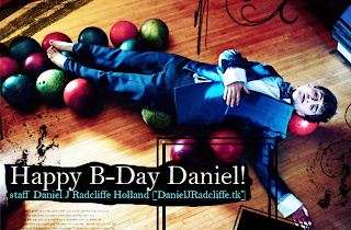 Happy Birthday Daniel!