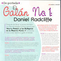 Updated: Interview: Dan and Emma talk Deathly Hallows part 1 TU magazine (Mexico)
