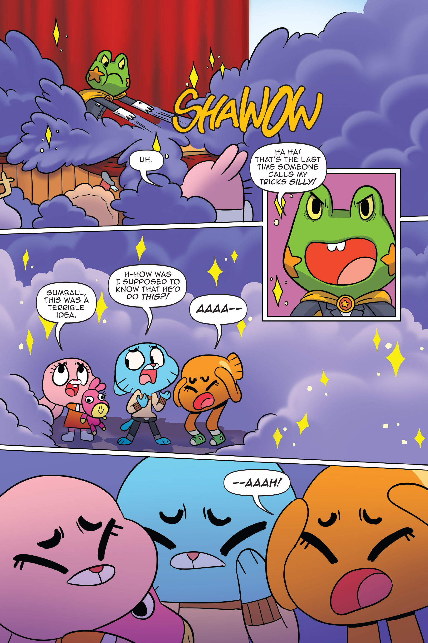 Read online The Amazing World of Gumball: Fairy Tale Trouble comic -  Issue # Full - 29
