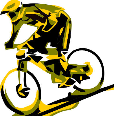 Vector MTB DH T shirt Design