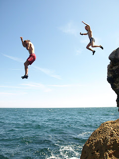 Bulgaria Cliff Jumping