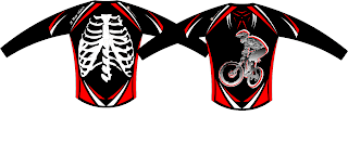 Mountain Bike Downhill Jersey - Highball X Ray Rider