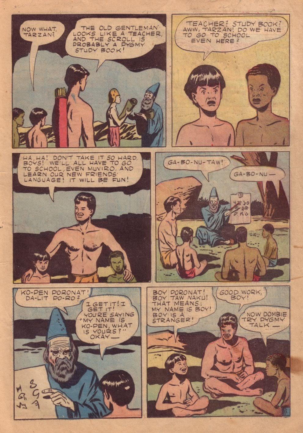Tarzan (1948) issue 8 - Page 23