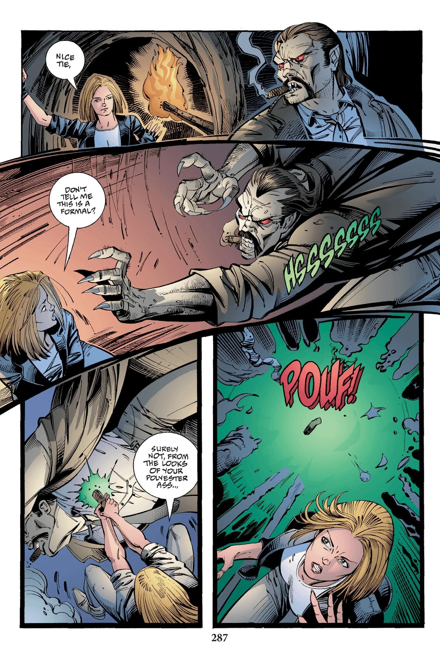 Read online Buffy the Vampire Slayer: Omnibus comic -  Issue # TPB 2 - 279