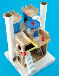 Como Fazer Um Castelo Medieval Para Maquete Utilizando Sucata