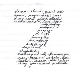Everything Under the Sun: Poem 8- Concrete Poem 2: Complex
