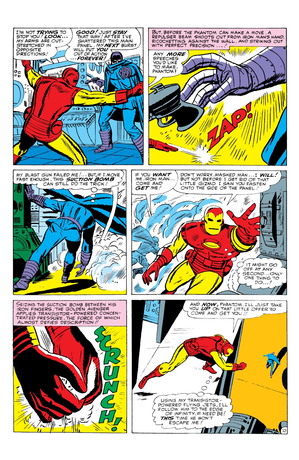 Read online Marvel Masterworks: The Invincible Iron Man comic -  Issue # TPB 2 (Part 3) - 10