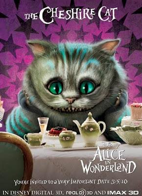 Gato de Cheshire - Alicia en el País de las Maravillas