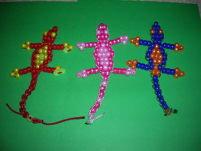 Toy Bead Gecko Instructions - Serving With Smiles