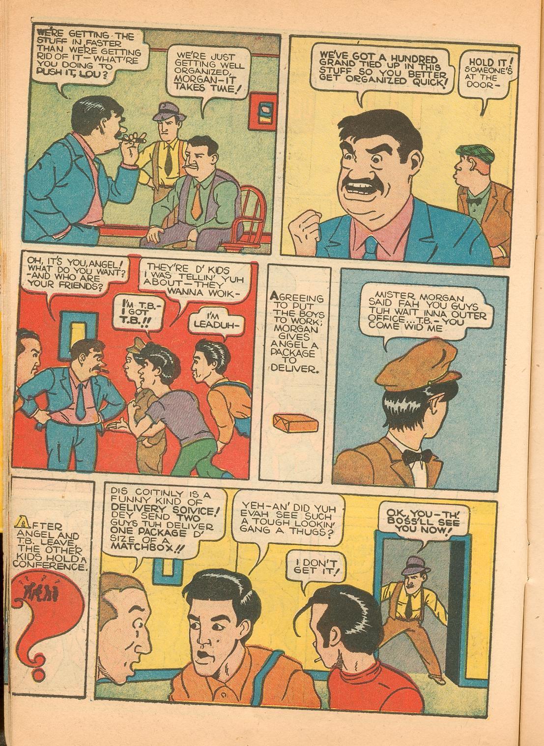 Read online Shadow Comics comic -  Issue #11 - 18