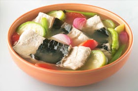 Filipino Dishes And Family Favorites Sinigang Na Bangus Belly Sa Patola