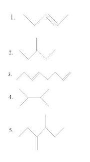 Segunda Lista De Atividade - Nomenclatura De Hidrocarbonetos