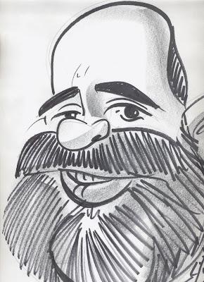 Caricatura de Manolo.