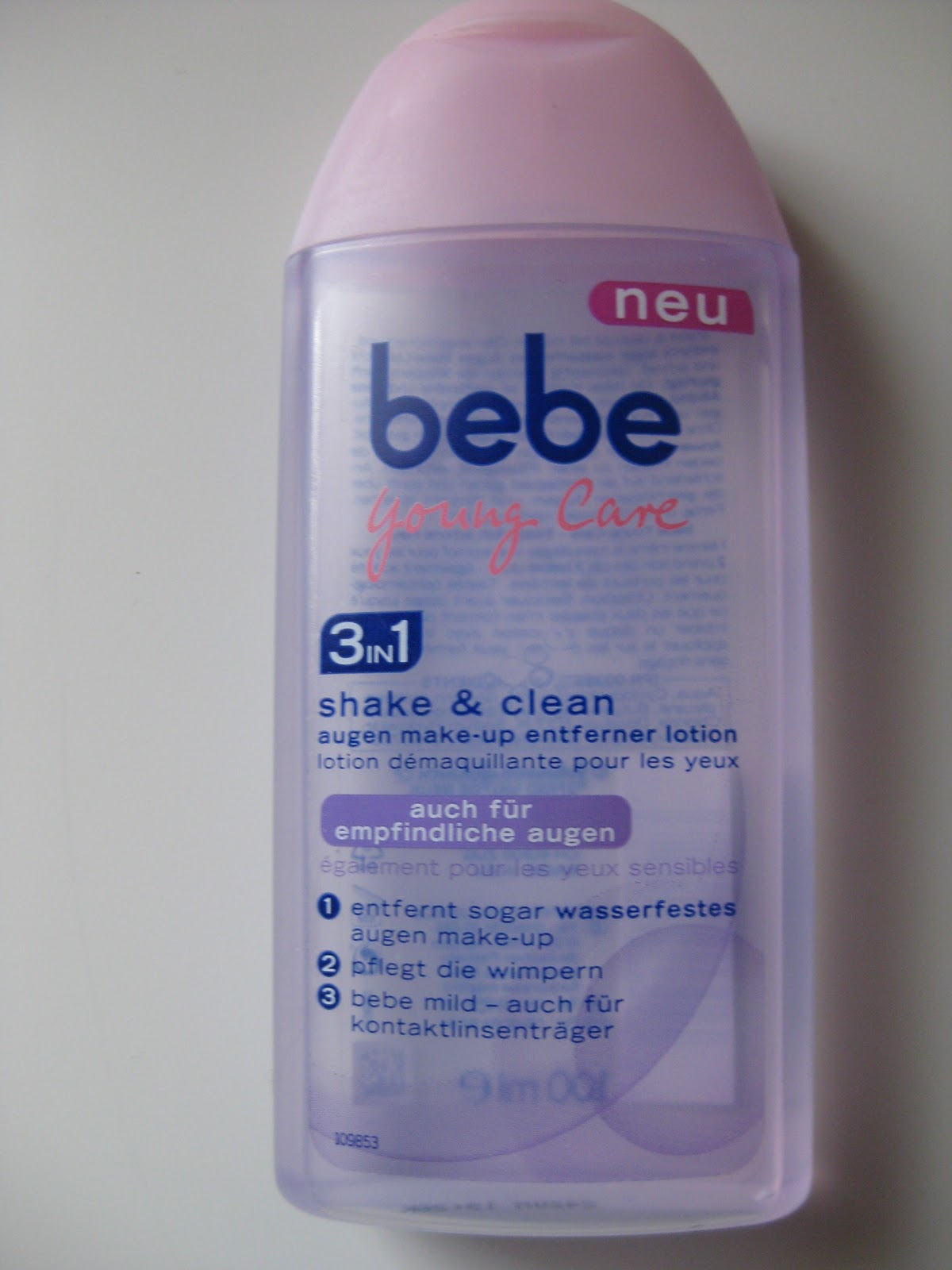 Bebe Produkte Bebe Young Care Shake And Clean Augen Make Up Entferner