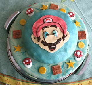 super mario kuchen. Black Bedroom Furniture Sets. Home Design Ideas