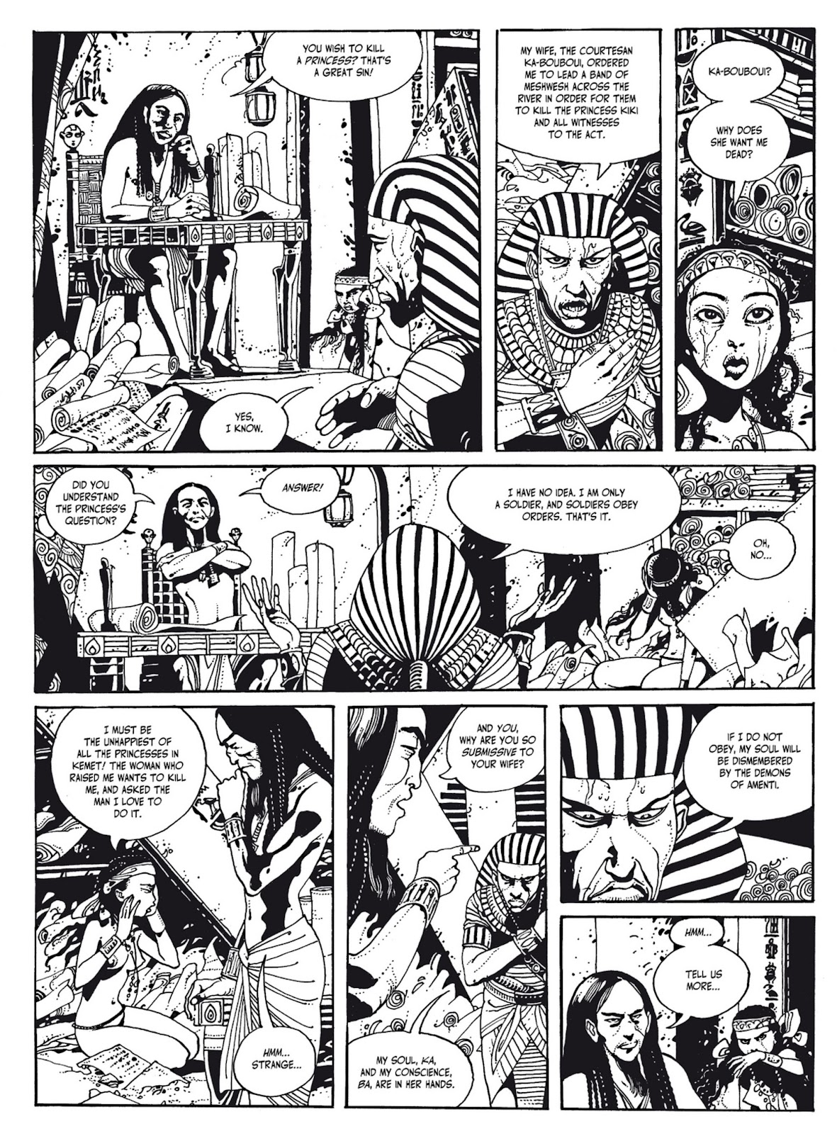 Read online The Egyptian Princesses comic -  Issue # TPB 1 (Part 1) - 47