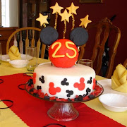 Mickey Mouse Anniversary Cake