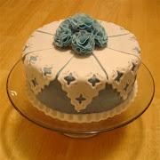 Wedgewood Blue Cake