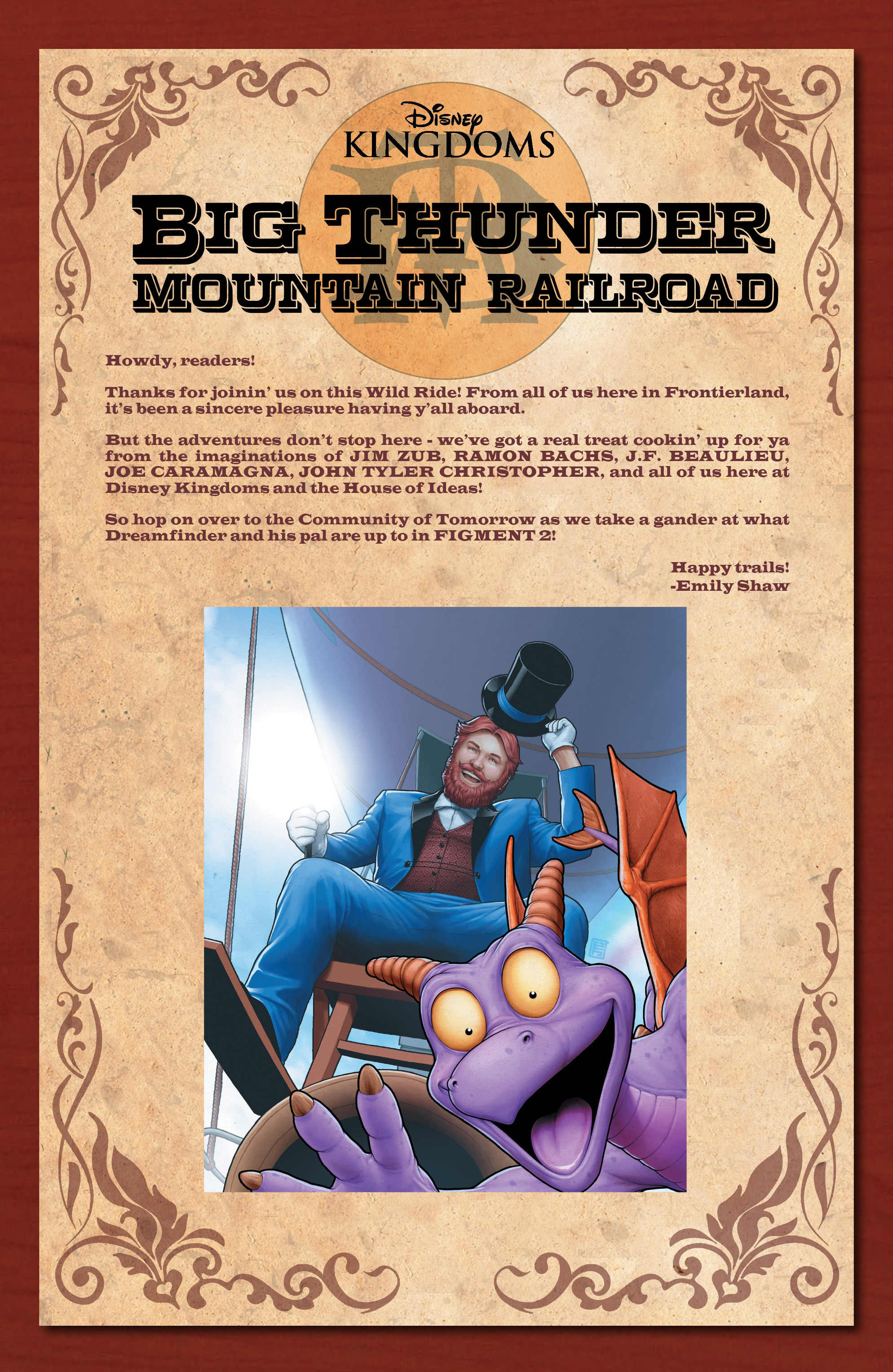 Read online Big Thunder Mountain Railroad comic -  Issue #5 - 25