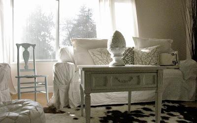 My House Of Giggles I M In White Slipcover Bliss