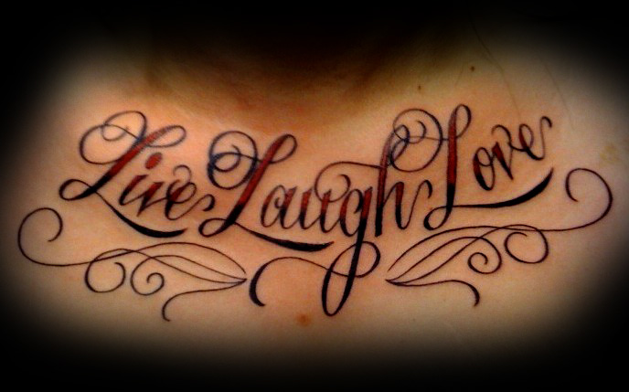 jyxuvawaky: live laugh love tattoos