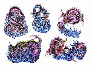 Tatuaż Wzory Tatuaży Tatuaże Smoki